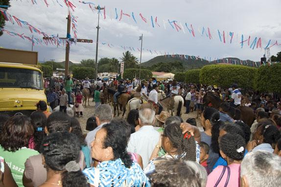 Festejos em Canabrvinha em 2012
